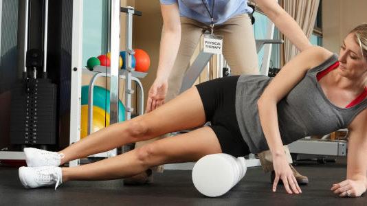 Hjælp fra fysioterapeut