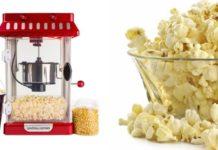 Lav selv popcorn med popcornmaskine